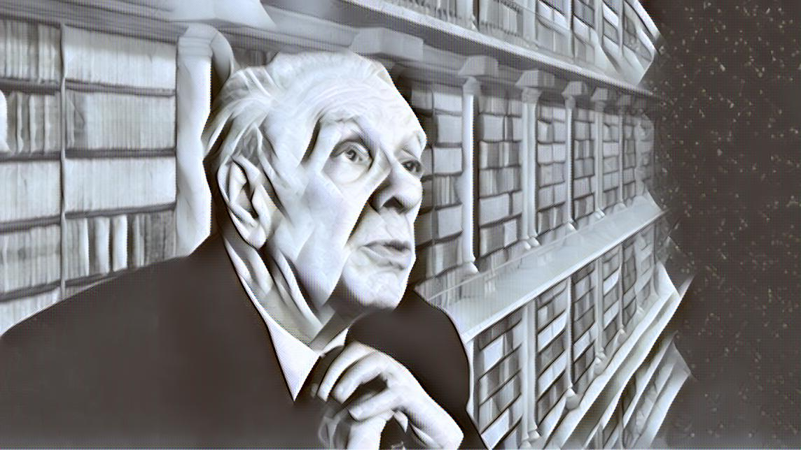 The subtle difference between holding a hand and imprisoning a soul - JORGE LUIS BORGES
